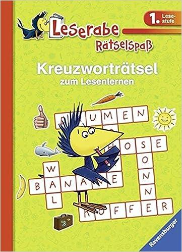 Kreuzworträtsel Zum Lesenlernen 1 Lesestufe Grün Leserabe