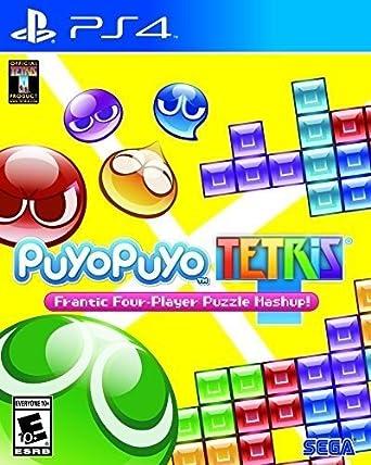 amazon puyo puyo tetris 輸入版 北米 ps4 ゲームソフト