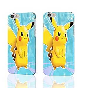 """Cute And Lovely Pikachu 3D Rough iphone Plus iphone 5s Case Skin, fashion design image custom iphone 5s , durable iphone 5s hard 3D case cover for iphone 5s (""""), Case New Design iphone covers"""