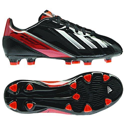 nior Soccer Cleats - Black/Running White/Infrared (Boys) - 3 (Iii Trx Fg Soccer Cleat)