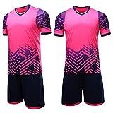 Gym Compression&Tights Goalkeeper Football Short Sleeve Jersey for Men's Soccer Jersey Kids Training Uniform Rosered