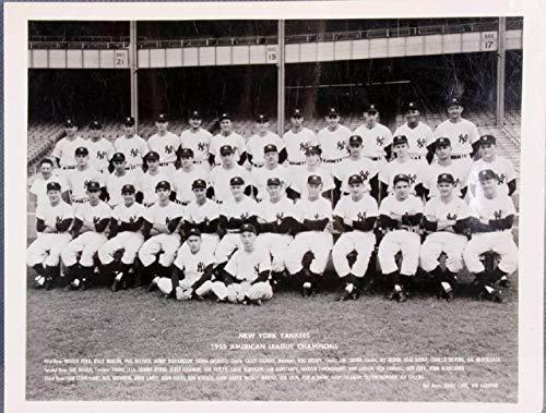- 1955 New York Yankees Team Photo AL Champs
