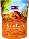 Halo, Purely for Pets Spot's Stew Adult Dog Wholesome Chicken, 28-Pound