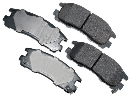 Dodge Colt Brake Disc - Akebono ACT383 ProACT Ultra-Premium Ceramic Brake Pad Set