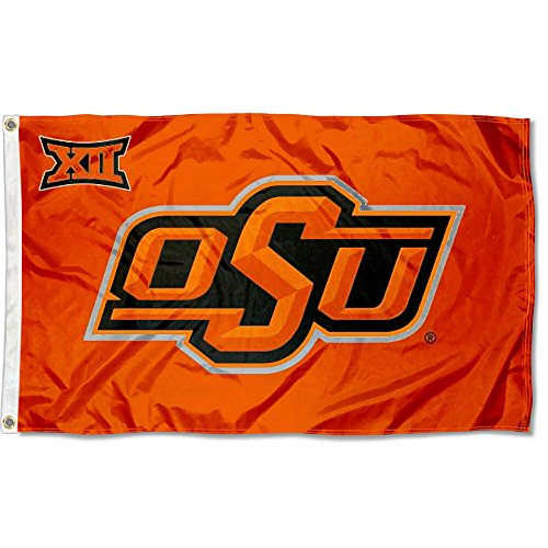 - College Flags and Banners Co. OSU Cowboys Big 12 3x5 Flag