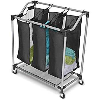Amazon Com Sagler Saganizer Hamper With Wheels Rolling