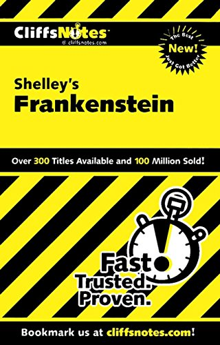 CliffsNotes on Shelley's Frankenstein (1st 2011) [Coghill]