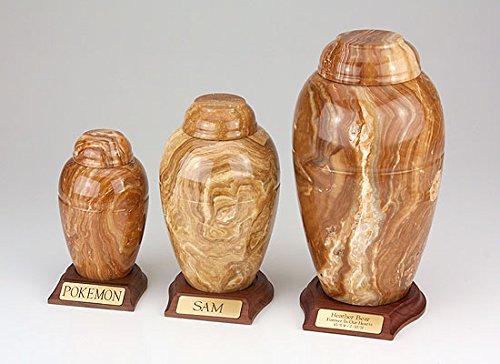 Ever My Pet Marble Vase Series Caramel