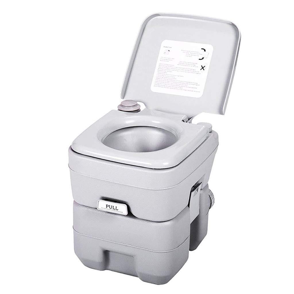 LIU UK Portable Toilet Tragbare Toilette, Camping Flushable Einfach Zu RV-Toilette Mit Abnehmbaren Tanks FüR MüHelose Reinigung Tragen FüR Reisen Stiefelfahren Und Reisen Verwenden