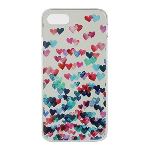 Custodia iPhone 7 / iPhone 8 , LH En Forma De Corazón TPU Trasparente Silicone Cristallo Morbido Case Cover Custodie per Apple iPhone 7 / iPhone 8 4.7