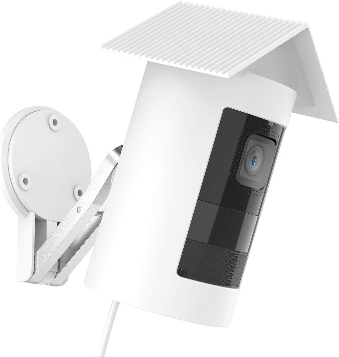 souple et protecteur pour la s/écurit/é /à la maison Housse en silicone compatible avec la cam/éra filaire Ring Stick Up blanc cam/éra filaire /étui en silicone durable