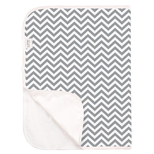 Kushies Baby Deluxe Change Pad, Terry Grey