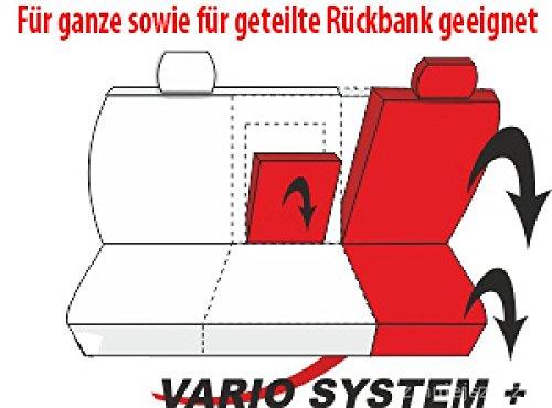 Universal Beige Polyester//Kunsleder Sitzbez/üge Komplettset Sitzbezug f/ür Auto Sitzschoner Set Schonbez/üge Autositz Autositzbez/üge Sitzauflagen Sitzschutz Modern