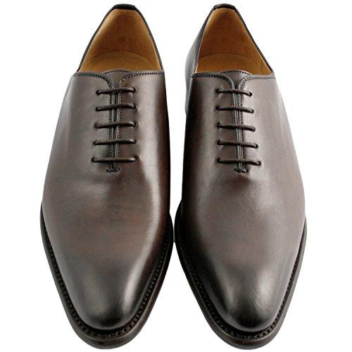 Exclusif ParisExclusif Paris Eric, Chaussures homme Richelieus homme - Zapatos de Cordones Hombre Marrón - marrón