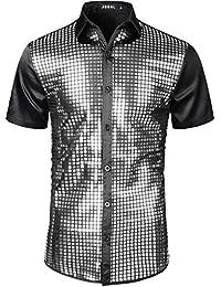 Men's Novelty Button Down Shirts   Amazon.com