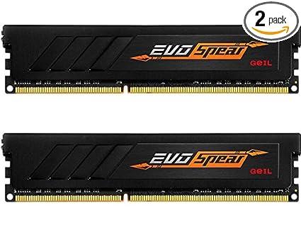 Image result for RAM GeILEVO SPEAR 16GB/2400MHz (2x8GB) - GSB416GB2400c17DC