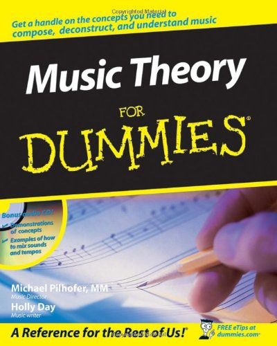 (Music Theory For Dummies, with Audio CD-ROM)