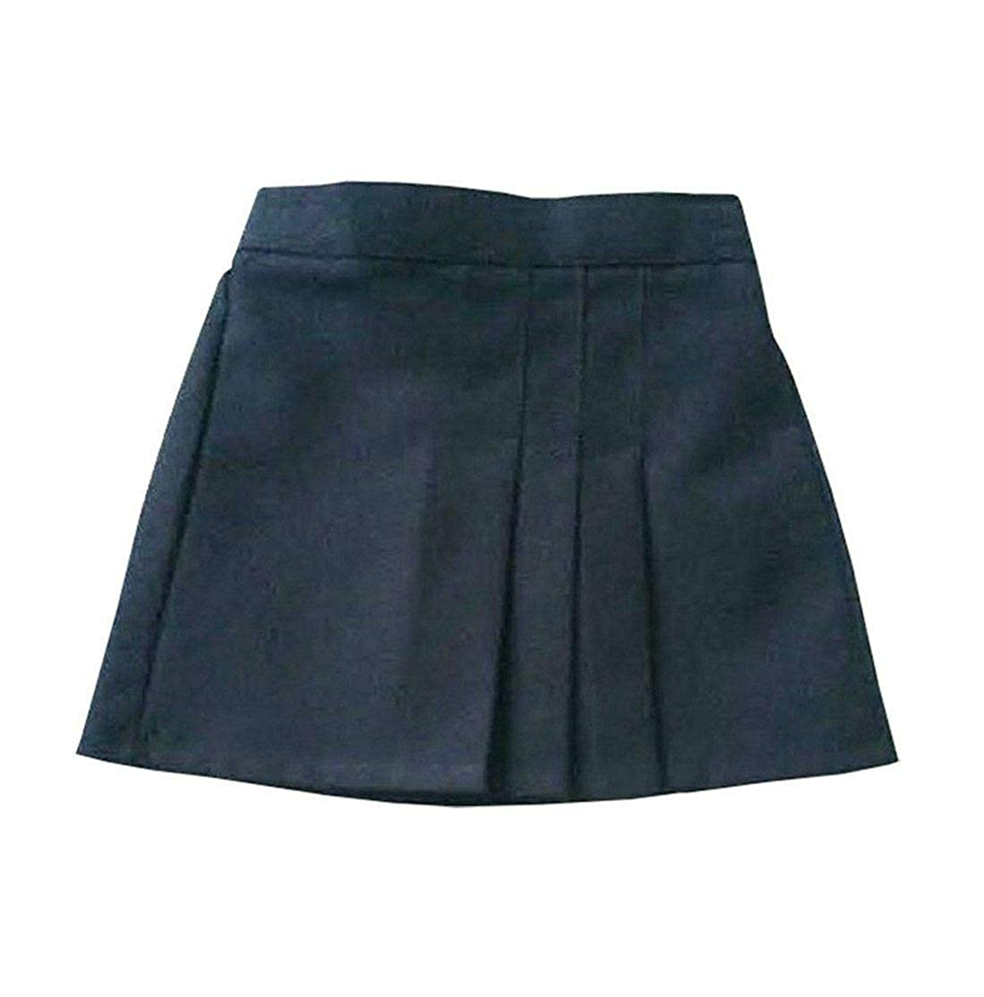 My Choice Stuff Regular School Girls Three Pleated Skirt Kids Elasticated Waist School Uniform Skirt