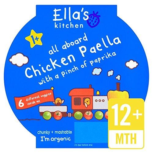Ellas Küche Little Big Mahlzeit Huhn Paella Stufe 4 200g Ella' s