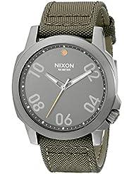Nixon A5142072 Ranger 45 Nylon Gunmetal / Surplus Mens Watch