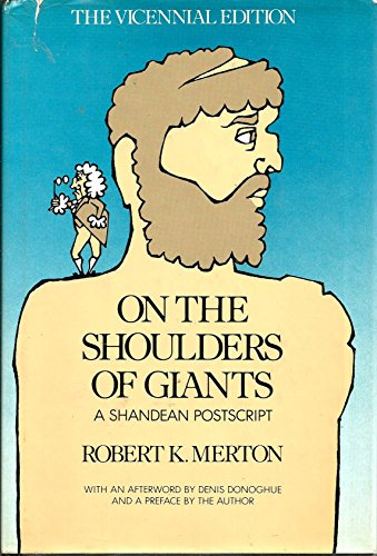 On the Shoulders of Giants: A Shandean Postscript by Harcourt