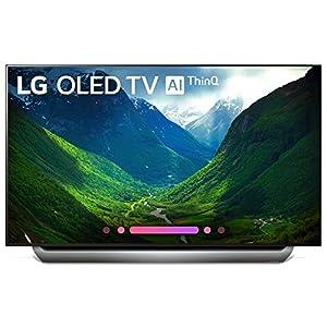 LG Series 8 OLED65C8AUA 65-Inch 4K Ultra HD Smart OLED TV (2018 Model)(Renewed)
