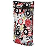 Planet Wise Hanging Wet/Dry Bag, Art Deco