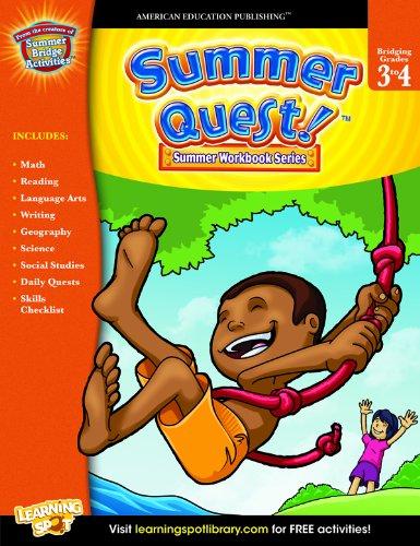 Read Online Summer Quest™, Grades 3 - 4 pdf epub
