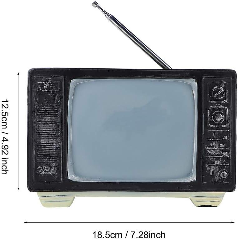 Ornamento antiguo de la estatua de la televisión de la resina TV ...