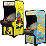 Classic Handheld Pacman And Ms Miniature Arcade Games w/ Joystick Control