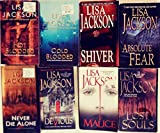 Lisa Jackson's Complete 8-Book 'NEW ORLEANS' Series -- Hot Blooded / Cold Blooded / Shiver / Absolute Fear / Lost Souls / Malice / Devious / Never Die Alone