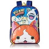 Yo-Kai Watch Boys' 3D Ears Front Pocket 16 inch Backpack, Blue