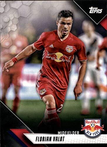 2019 Topps MLS #97 Florian Valot New York Red Bulls Soccer Trading Card