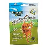 Emerald Pet Cat Dental Grain Free Treats, 3-Ounce, Tuna