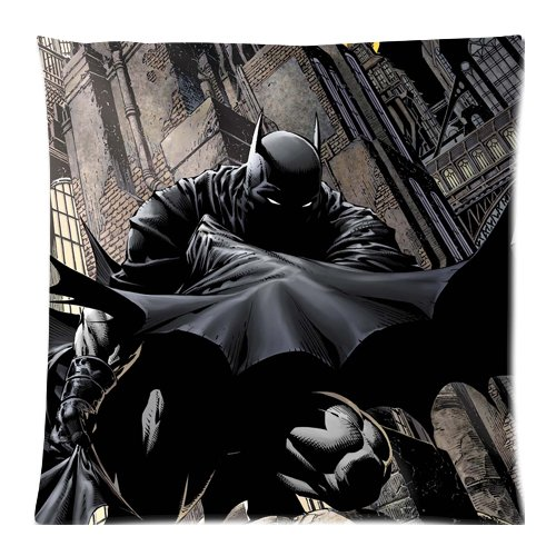 EnjoyU Super Batman Custom con Cremallera cojín Almohada 18 ...