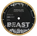Lackmond Beast Pro Porcelain Saw Blade - 7' Hard Tile Cutting Tool with Thin Kerf Cutting Edge & 5/8' Arbor - BP7