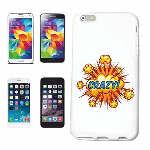 """cas de téléphone iPhone 6S """"FOU FUN SHIRT HIPHOP LIFESTYLE FASHION STREETWEAR HIPHOP SALSA LEGENDARY"""" Hard Case Cover Téléphone Covers Smart Cover pour Apple iPhone en blanc"""