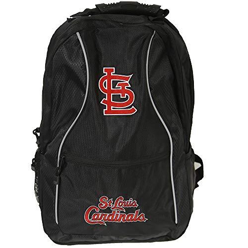 (MLB St Louis Cardinals Elite Backpack, 19-Inch, Black)