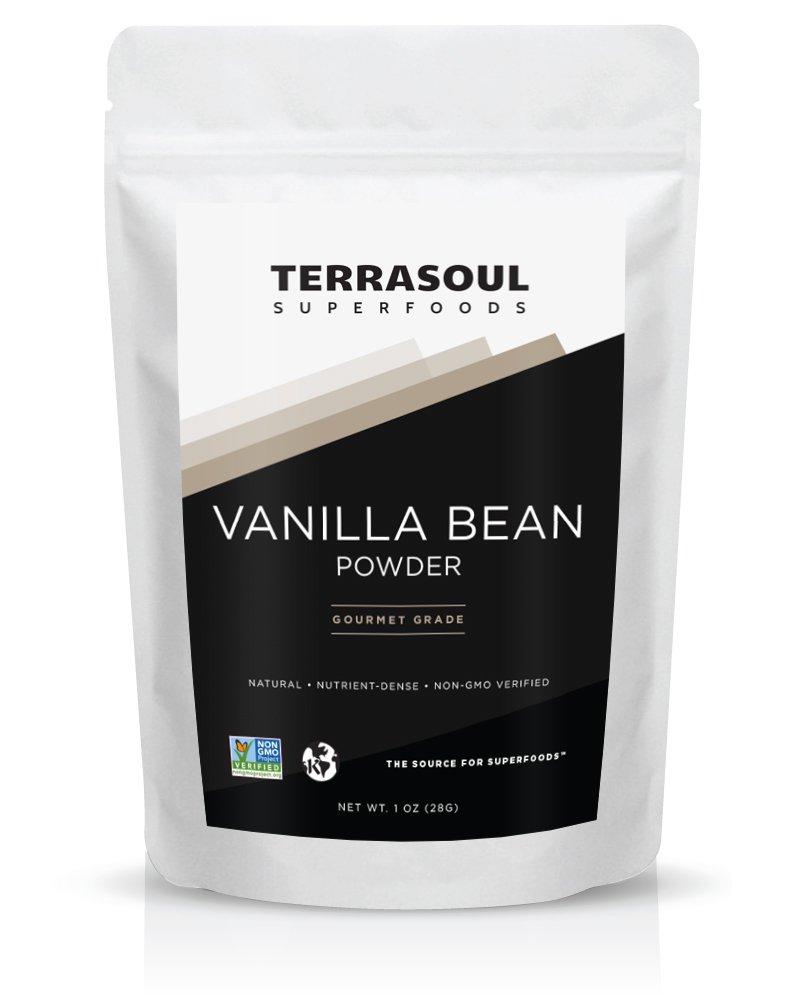 Terrasoul Superfoods Gourmet Madagascar Vanilla Powder, 1 Ounce