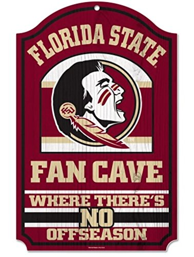 Wood Florida University (NCAA Florida State University 46595014 Wood Sign, 11