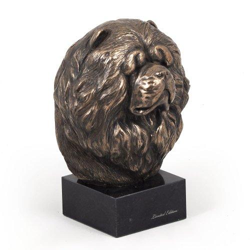 ArtDog CA Chow Chow dog bust marble statue