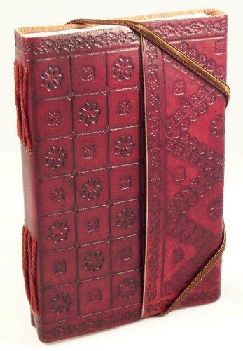 Trade Fair Leather - Hand Made Genuine Leather Journal - Embossed - Fair Trade