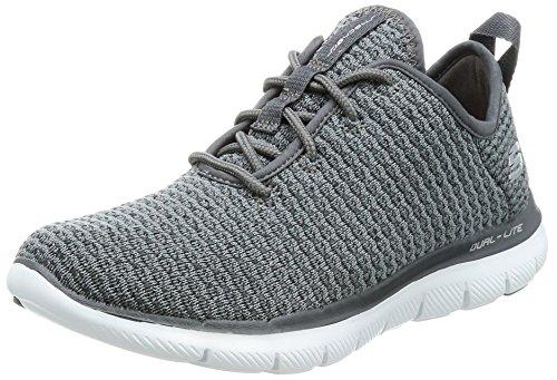 Skechers Flex Appeal 2.0-Bold Move Women US 5 Gray Sneakers