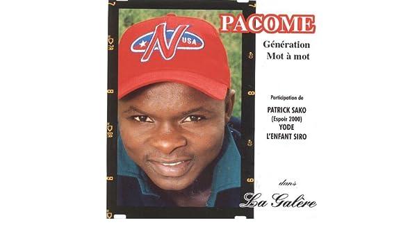 PACOME GALERE TÉLÉCHARGER
