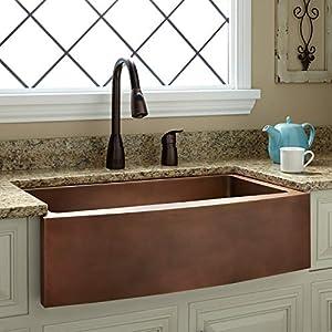 51-hTFhCZxL._SS300_ Copper Farmhouse Sinks & Copper Apron Sinks