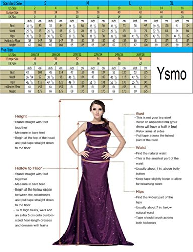 Ysmo - Vestido - para mujer dorado dorado 46