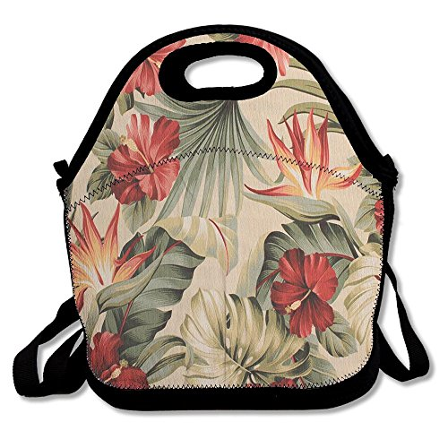 Yenba Flora Flower Designer Lunch Bags For Women Lunch Boxes