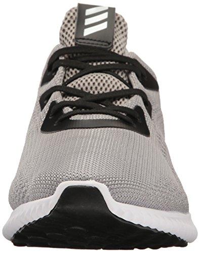 Adidas Performance Mens Alphabounce M Chaussure De Course Gris Moyen Chiné / Blanc / Noir