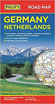 Philips Germany And Netherlands Road Map Amazon - Germany road map 2015