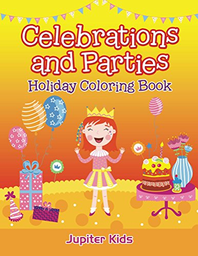 Celebrations Parties Holiday Coloring Book ebook